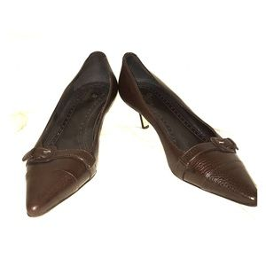 Brooks Brothers Brown Heels sz8